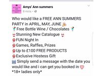 FREE Ann Summers parry