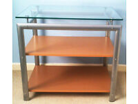 Stylish Glass Top Table. Width - 65cm Depth - 45cm Height - 59cm