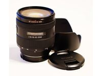 Sony 16-50mm f/2.8 Zoom Lens for Sony A-Mount Cameras