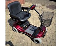 MOBILITY SCOOTER - SHOPRIDER PARIS - LIGHTWEIGHT - AS NEW
