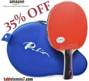 +++++ 35% OFF on PREMIUM QUALITY Palio 3 Star PING PONG PADDLE - ITTF APPROVED with FREE CASE +++++