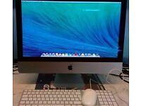 "Sale!! iMac SlimLine 21.5"" , Intel core i5 2.5 Ghz/ 8GB Ram/ 1 TB HDD/ OSX EL Capitan, Office 2011"