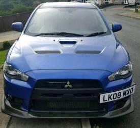 Mitsubishi evo x 10 gsr sst..403bhp.. C63 xfr 335d sti