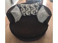 Shannon Swivel Cuddle Chair