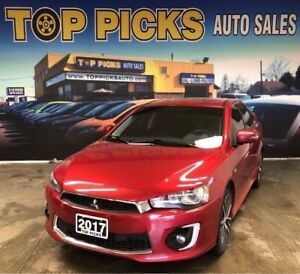 2017 Mitsubishi Lancer GTS, Low Kms, Accident Free & Certified!