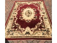 Very large luxury Rug 160 x 225 collection only