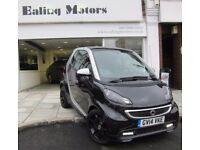 2014 SMART FORTWO GRANDSTYLE TURBO 84BHP,ONLY 4500MILE,SAT NAV,LEATHER,1 OWNER,FULL HISTORY,PAN ROOF