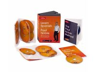 Learn Spanish with Paul Noble Colins 12CD's, Booklets , DVD Collections Box sets