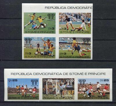 s5440) S.TOME E PRINCIPE 1978 MNH** WC Football - CM Calcio 7v...