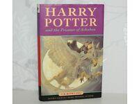 Harry Potter and the Prisoner of Azkaban- Ted Smart 1st Edition HARDBACK