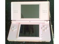 DS Lite Pink with charger