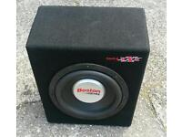 Boston g2 competition sub subwoofer loud massive bass brand new boxed