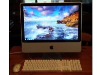 iMac desktop all-in-one Apple PC, 2TB hard drive, BootCamp Windows 7, Microsoft Office for Mac 2011