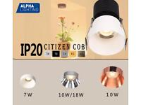 Various color led cabinet spot downlight