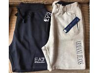 Ea7 and Armani shorts