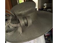 Hat - beautiful grey mother of the bride