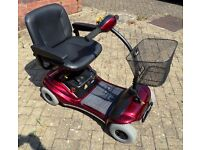 LIGHTWEIGHT SHOPRIDER MOBILITY SCOOTER AS NEW