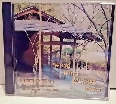 Klaus Lendzian Nylon String Guitar Wood Wind Willows Water Hard to Find CD 2006