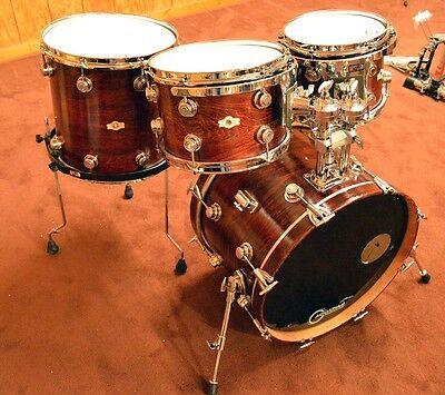 Camco drums 1960's  4 piece set -medium mahogany (refinish)