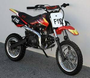 "DIRT BIKE 110CC FURY MX 14""/12"" WHEELS Wangara Wanneroo Area Preview"