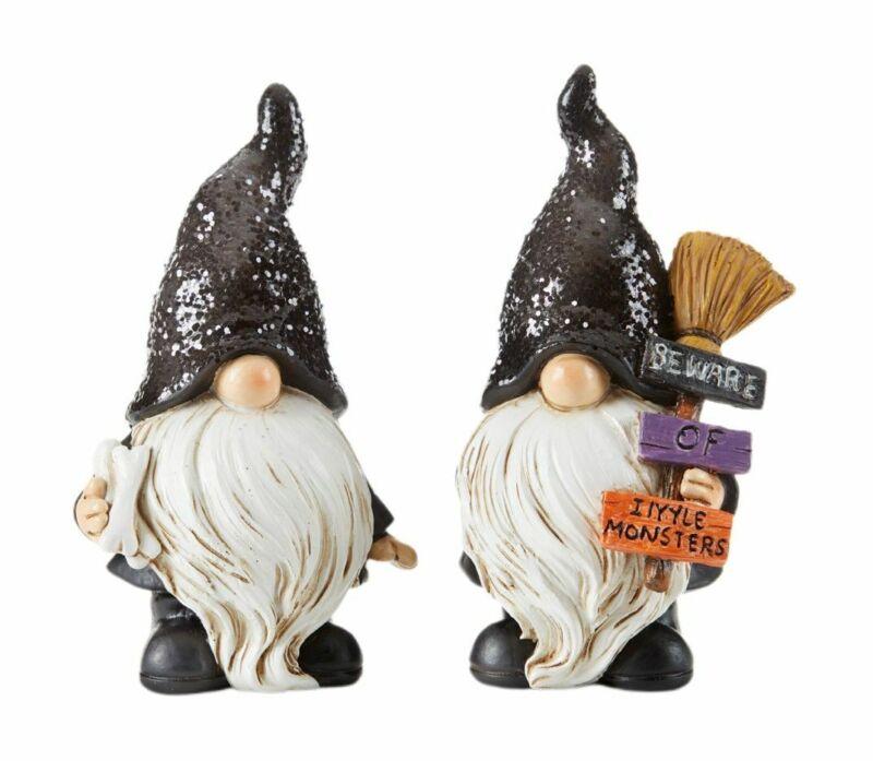 "Fairy Gnome Garden 4.75"" Halloween Gnomes - Set of 2 - Buy 3 Save $5"