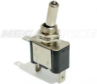 Heavy Duty 20a Toggle Switch Spst On-off Wviolet Led Cartruckboat Usa Seller