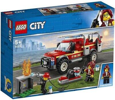 LEGO CITY FUORISTRADA VIGILI DEL FUOCO USATO OTTIME CONDIZIONI 5 ANNI IN SU