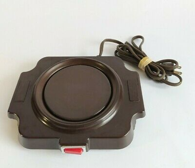 Bunn Usa Single Coffee Warmer Heat Plate For 12 Cup Pot Bcw Porcelain Brown
