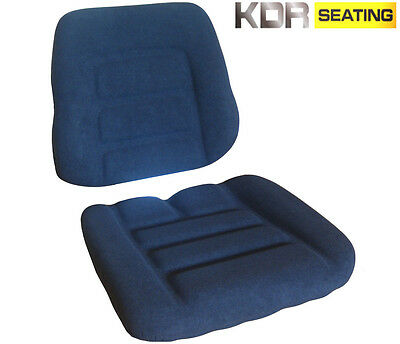GRAMMER DS85/90 TYPE TRACTOR SEAT CUSHIONS - CASE IH DAVID BROWN DB