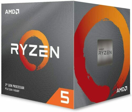 AMD Ryzen 5 2600 6 cores up to 3.9 GHz Processor with Cooler YD2600BBAFBOX