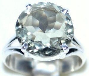 Verde-anello-di-ametista-argento-925-Solitario-Gemma-Anelli-L-O-M