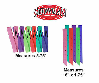 Western Saddle Colorful Nylon 6 Latigo   Off Billet Set Tie Strap Girth Cinch