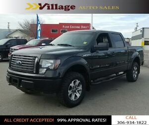 2011 Ford F-150 FX4 Leather Interior, Heated Seats, Digital A...