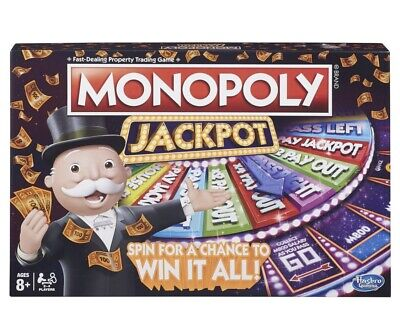 Monopoly Jackpot Brand New In Box! Hard to find!