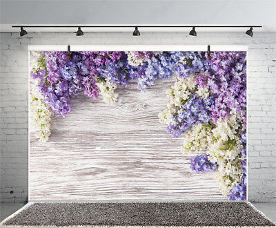 Справочный материал Purple Flower Thick Wood