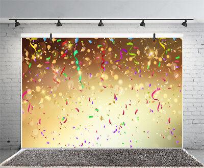 Справочный материал Confetti Streamers Photo Backdrop