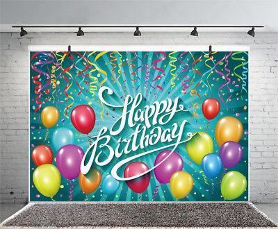 Справочный материал Birthday Party Ribbon Balloons