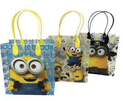 Mickey Gift Bags (20 bags MINIONS Party Favor Goody gift Candy bags birthday mickey)