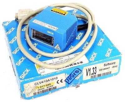 Nib Sick Clv410a1010 Barcode Scanner Pn 1-017-045 V1.33 Software 2018047