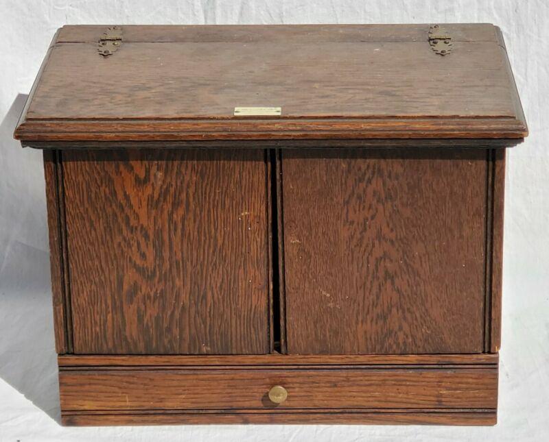 Max Wocher & Sons Cincinnati Civil War Era Surgical Instrument Box Tools Cabinet