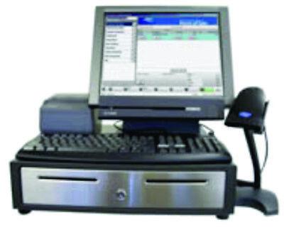 Casio Qt-8000 - Pos Touch Screen Terminal