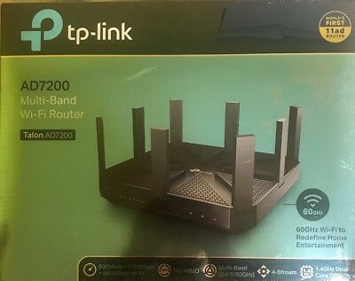 TP-Link AD7200 Wireless Wi-Fi Tri-Band Gigabit Router (Talon AD7200)
