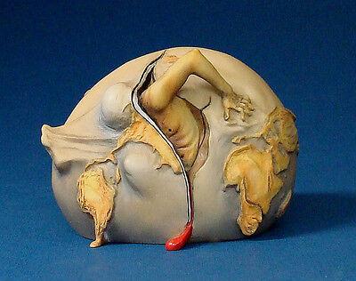 "SALVADOR DALI - Skulptur ""Geburt des neuen Menschen"" - Figur der Museums Edition"