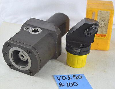 Sandvik Vdi 50 Capto C5 Clamping Unit Boring Head 347 368141 L19 C5 Vdi50 Shank