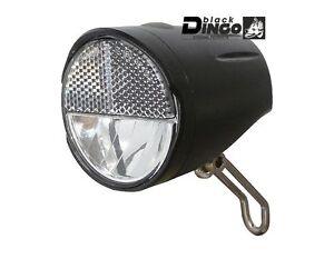 Black Dingo LED Batterie Scheinwerfer Auto Senso 20 Lux mit StVZO Fahrrad Lampe