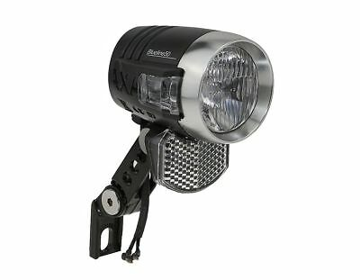 AXA LED-Scheinwerfer Blueline 50 E-Bike 6 Volt DC Fahrradlampe 50 Lux, 6 Volt DC