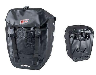 Packtasche 100% wasserdicht, Gepäckträgertasche, Fahrradtasche, Einzelpacktasche