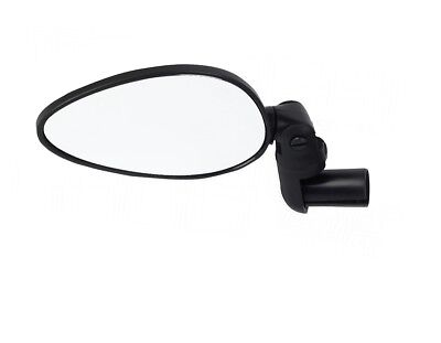 ZEFAL Rückspiegel CYCLOP Konvex Fahrradspiegel klappbar schwarz Spiegel Fahrrad (Fahrrad Rückspiegel)