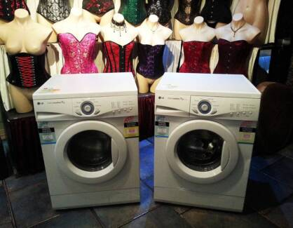 2 7kg L.G frontload washing machines with brand new motor brushes Ferny Hills Brisbane North West Preview