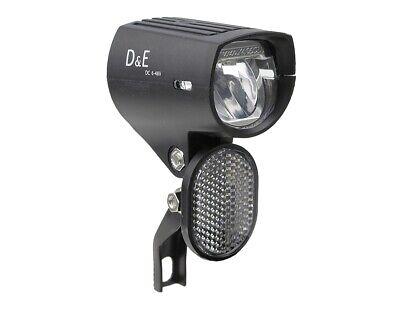 LED-Scheinwerfer 90 Lumen E-Bike 6 - 48 Volt DC Fahrradlampe Pedelec E-Rad